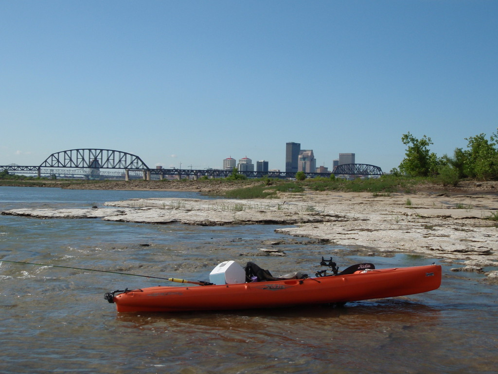 Kayak on Fossil Beds