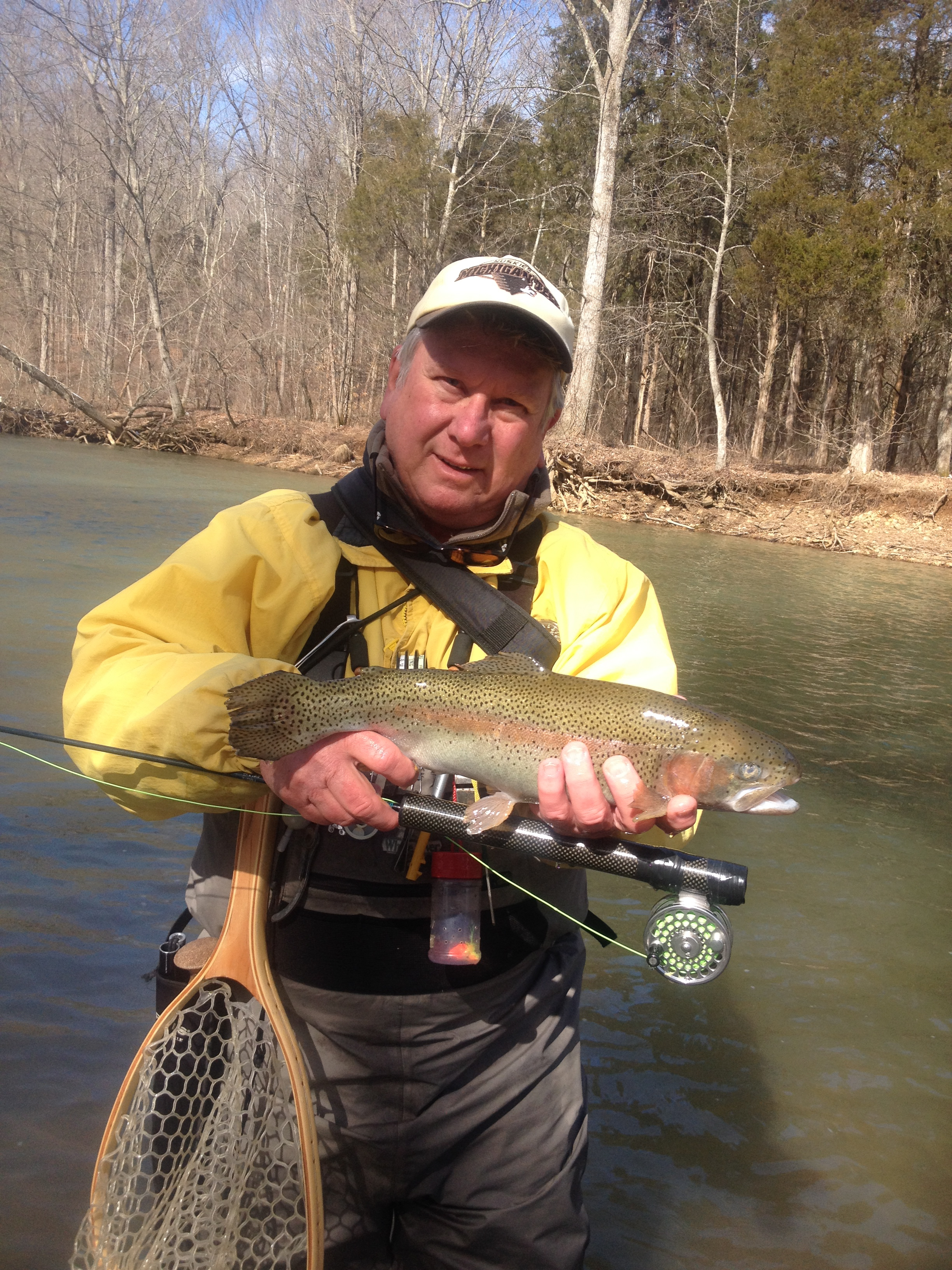 Otter creek derby city fly fishers for Fly fishing kentucky