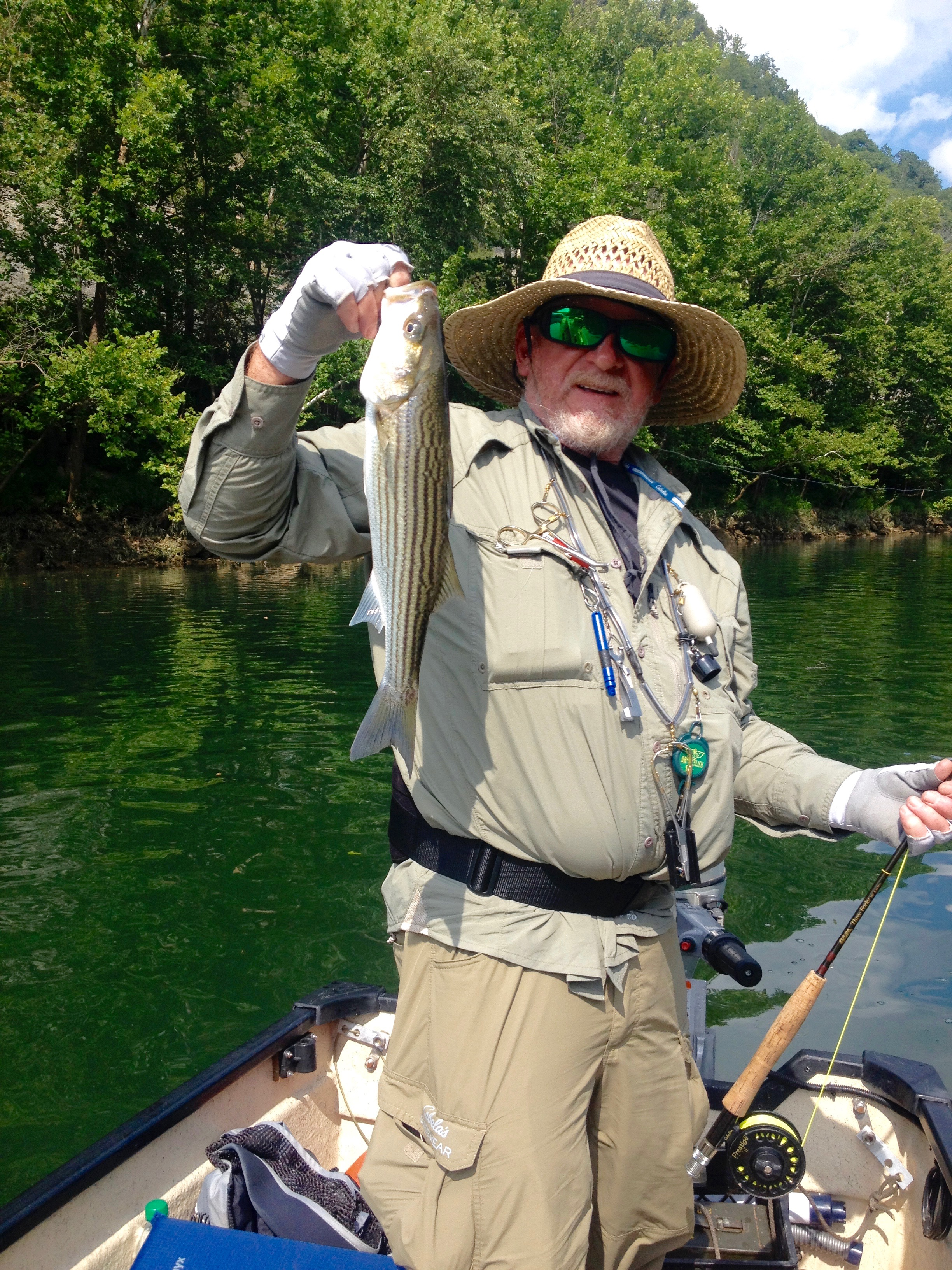 Cumberland river derby city fly fishers for Otter creek fishing report